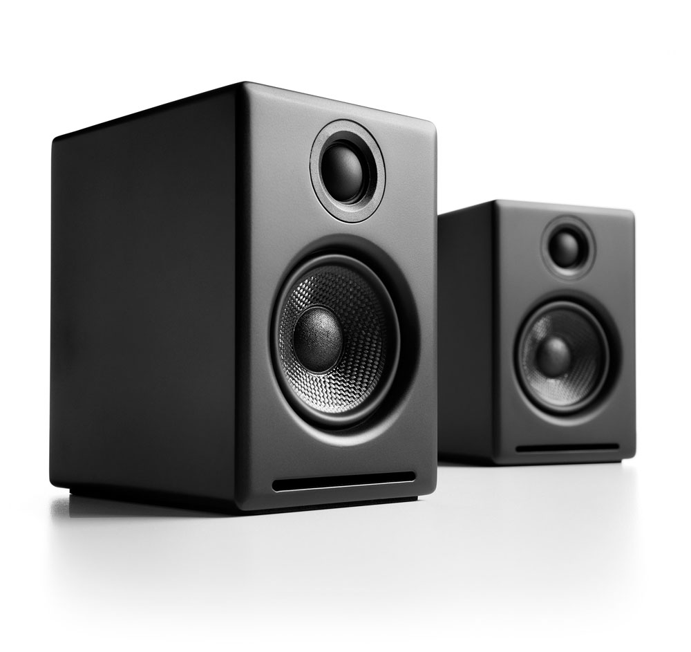 Audioengine A2 Premium Powered Desktop Speakers - Pair