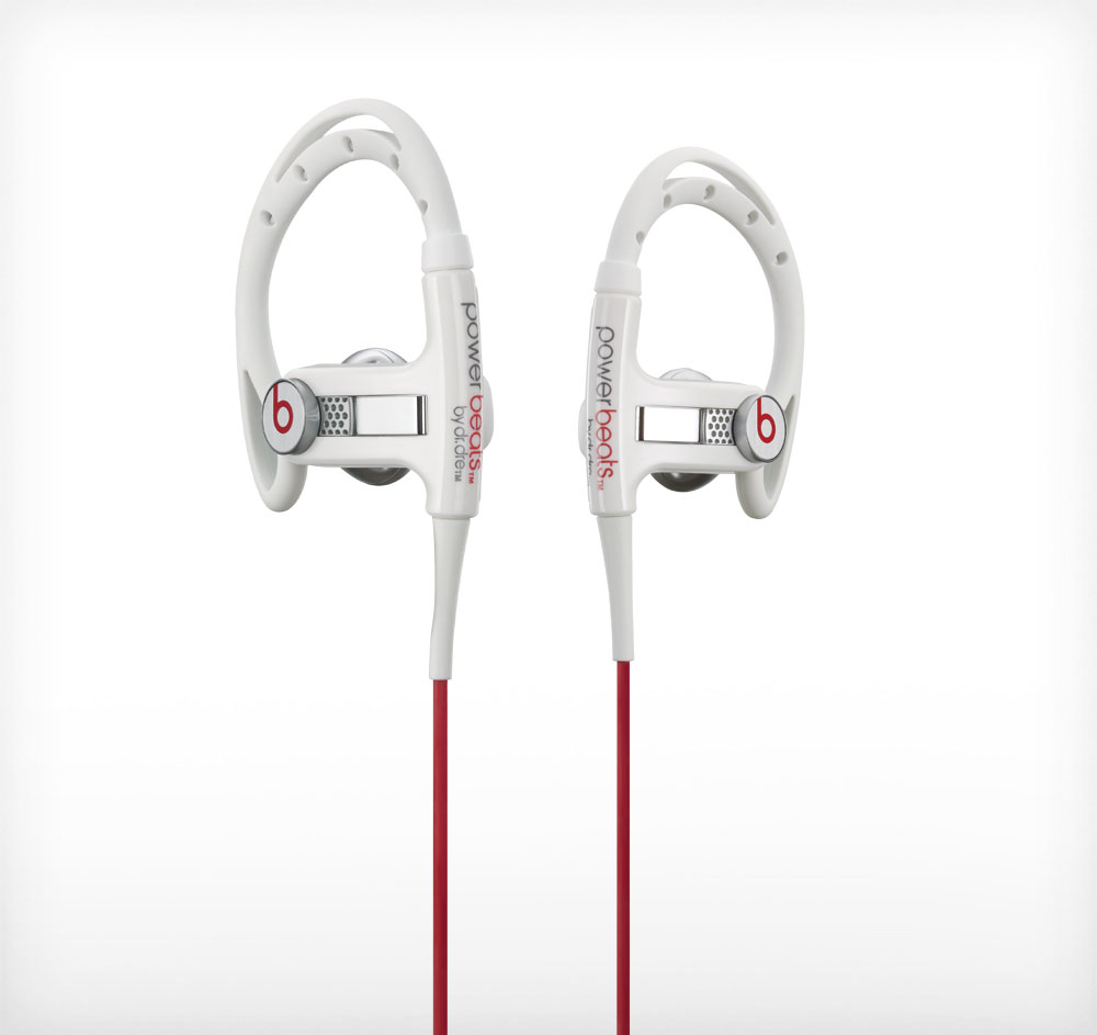 Beats by Dr. Dre PowerBeats Sport White In-ear headphones w/ Remote & Mic at Sears.com