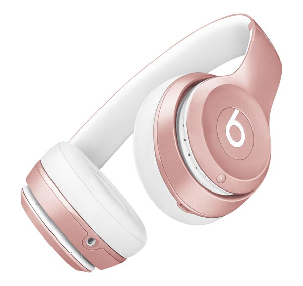 Hero Image of the Beats by Dre, Rose Gold.