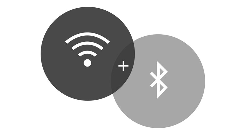 Image of Bluetooth and Wi-Fi Logo