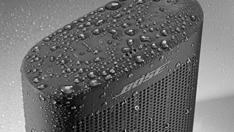 Image of moisture on Bose SoundLink II