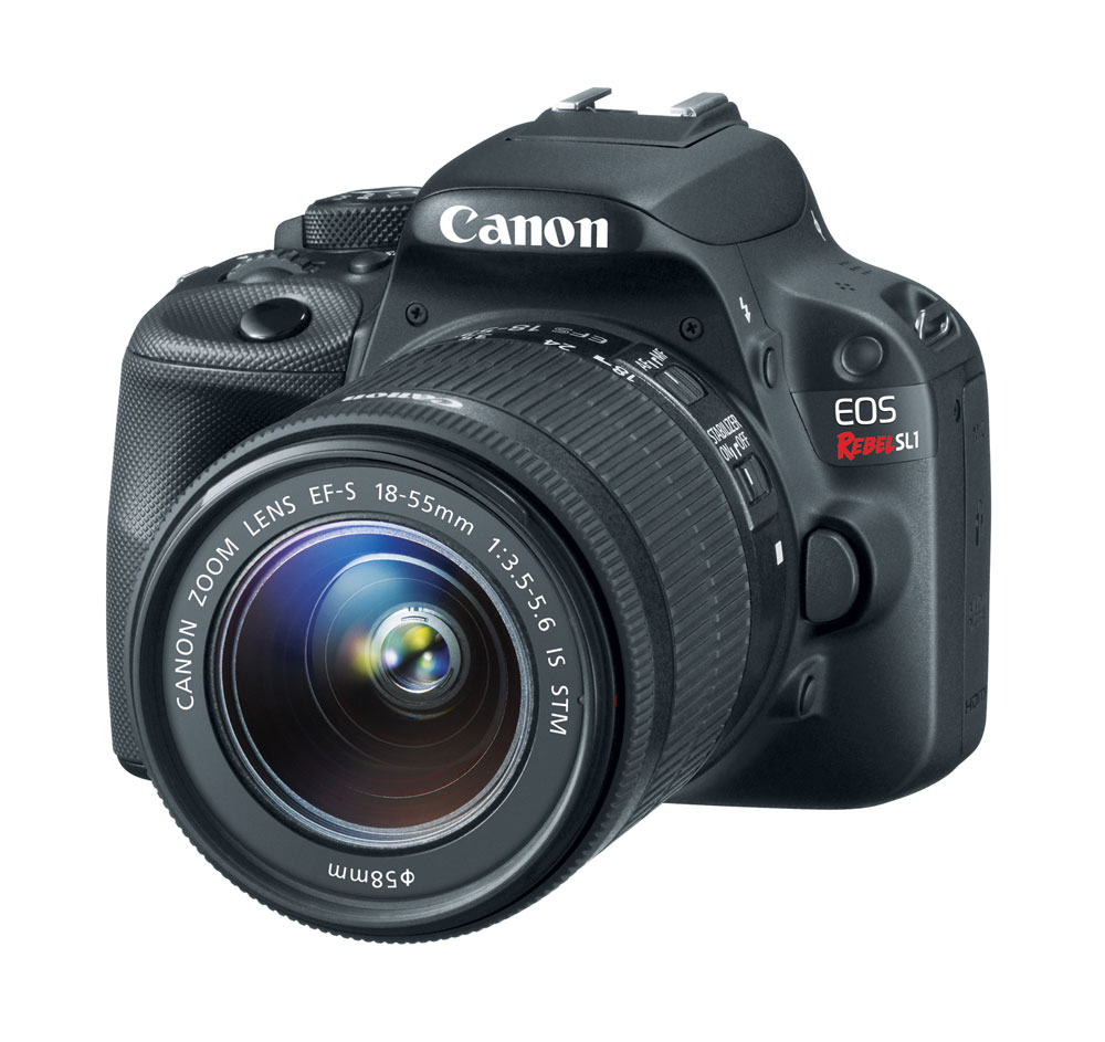 Canon EOS Rebel SL1 18-55mm Kit 18-megapixel Digital SLR with EF-S 18-55mm IS STM Lens at Sears.com