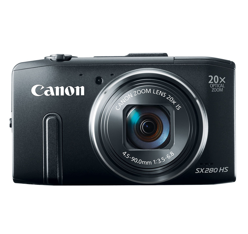 Canon PowerShot SX280 HS Black 12.1-megapixel Digital Camera at Sears.com