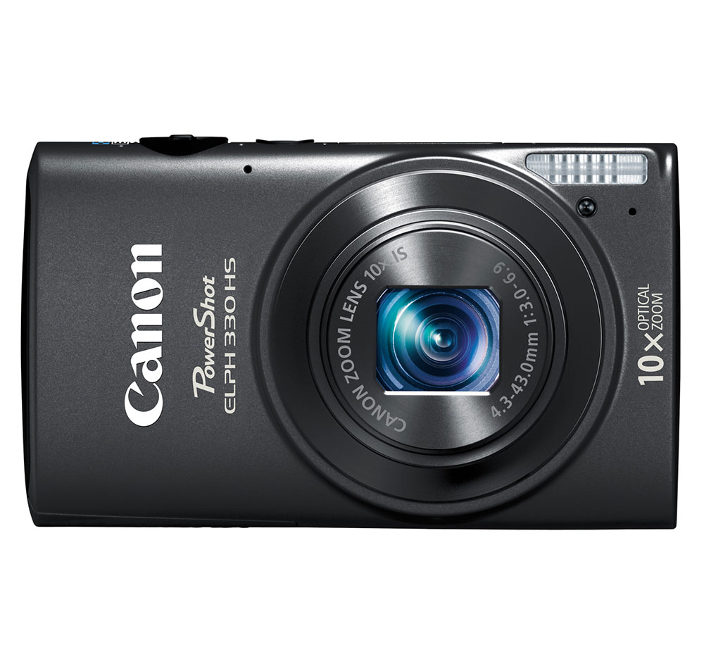 Canon PowerShot ELPH 330 HS Black 12.1-megapixel Digital Camera at Sears.com
