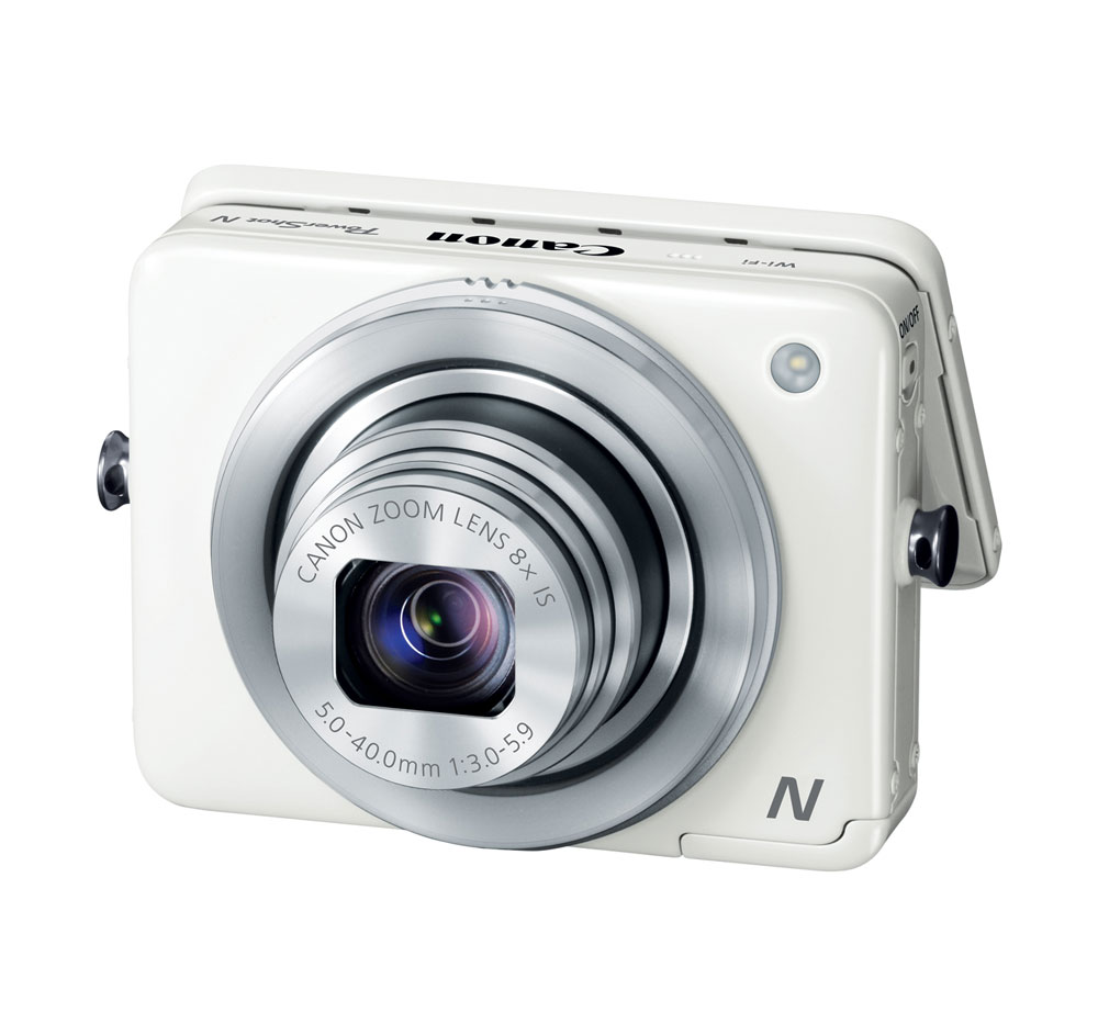 Canon PowerShot N White 12.1-megapixel Digital Camera at Sears.com