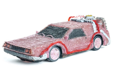 Image of DeLorean 3D Printing