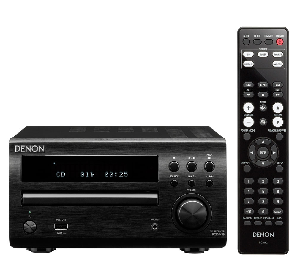 Buy Denon Audio Systems - Denon D-M39S Compact Bookshelf Stereo System