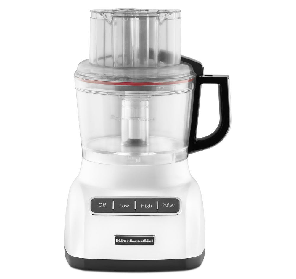 KitchenAid White 9 Cup Food Processor with Mini Bowl (KFP0922WH) at Sears.com