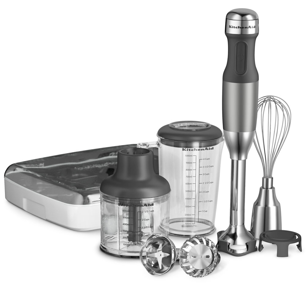 KitchenAid KHB2561CU Silver 5-Speed Hand Blender at Sears.com