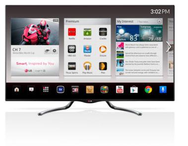 LG's Google TV