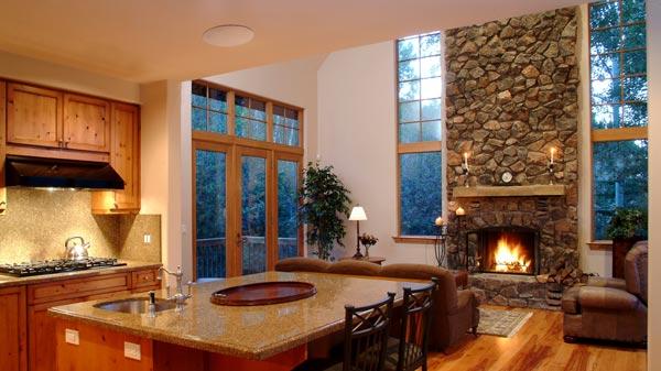 MartinLogan Installed in Great Room/Kitchen