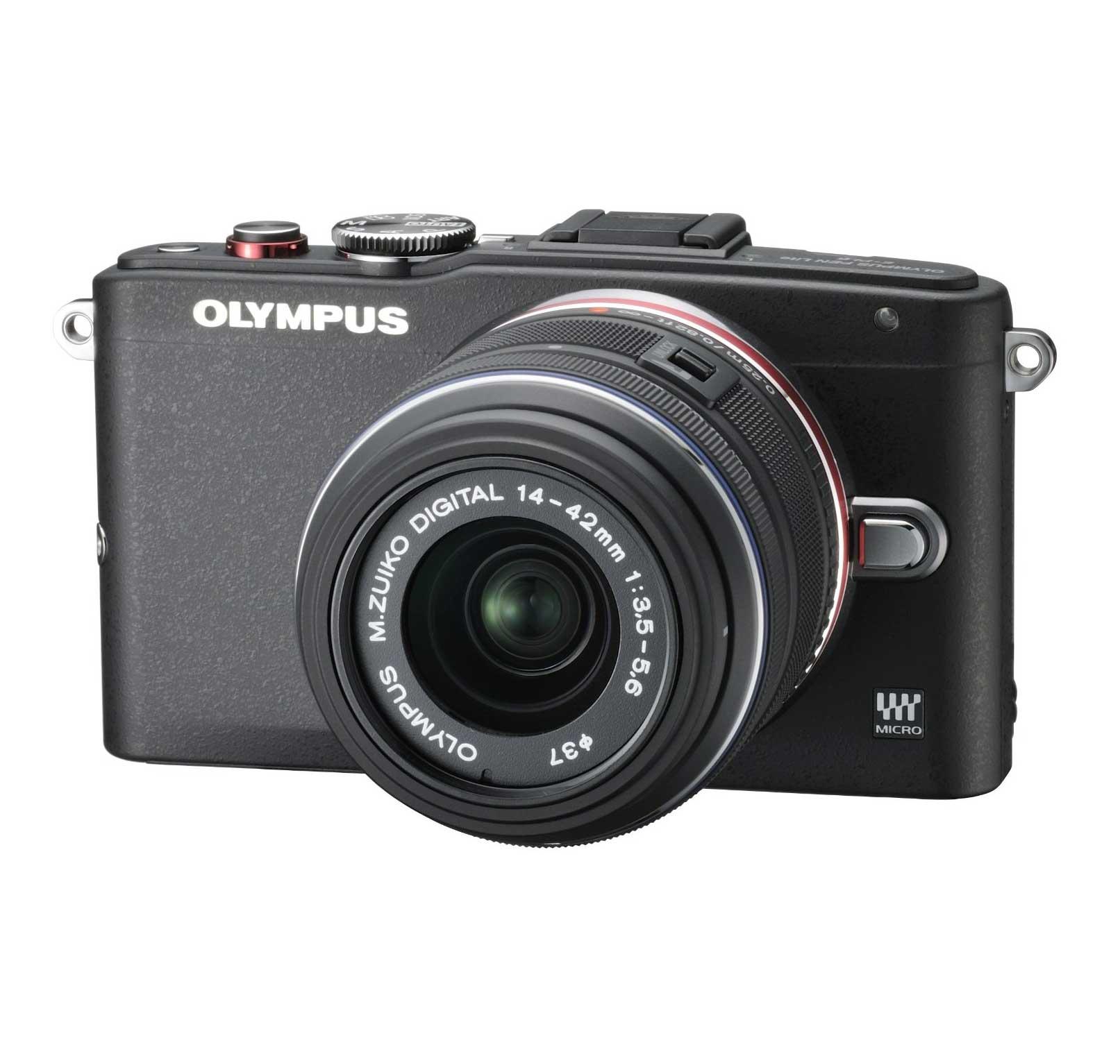 PEN EPL6 (Black) 1442mm Kit Mirrorless Digital Camera
