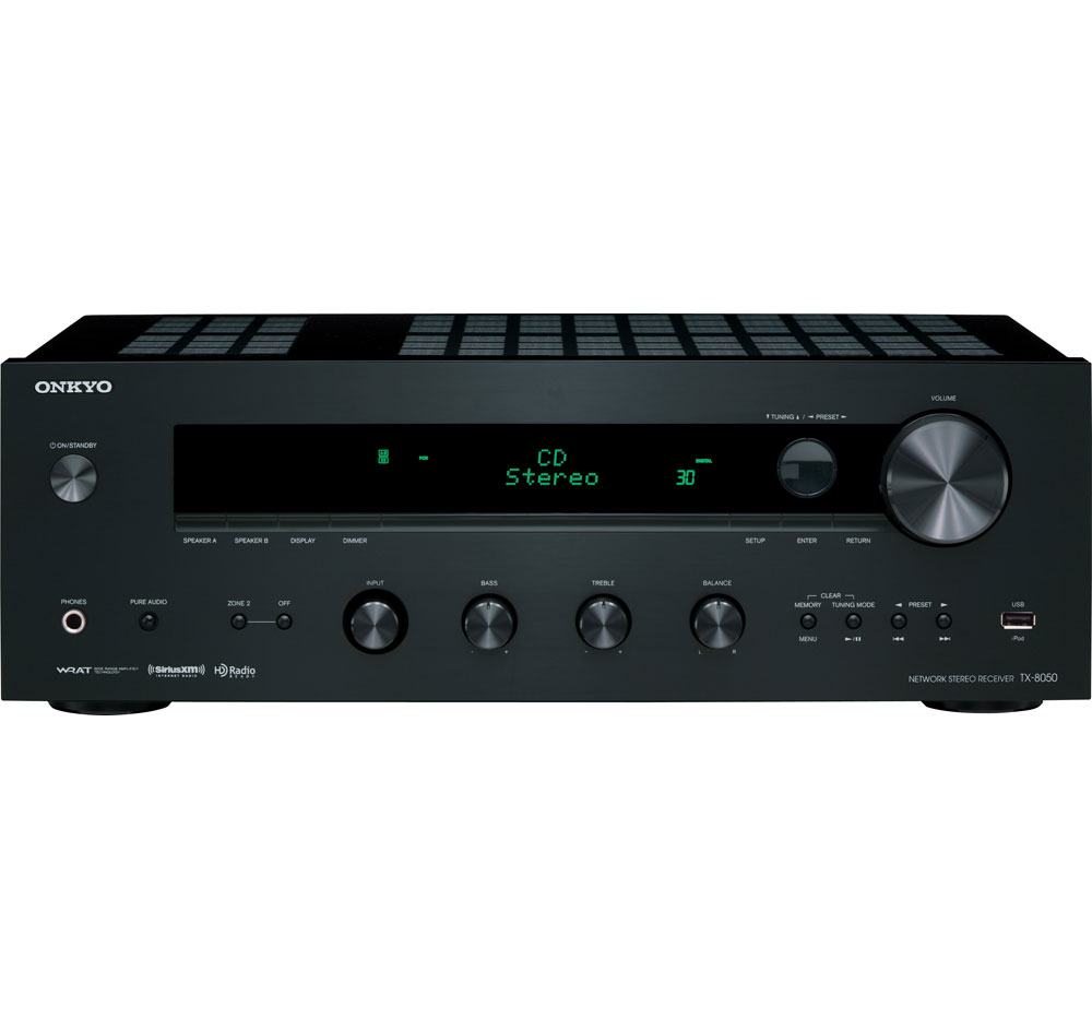 Onkyo TX-8050 Network Ready Stereo Receiver at Sears.com