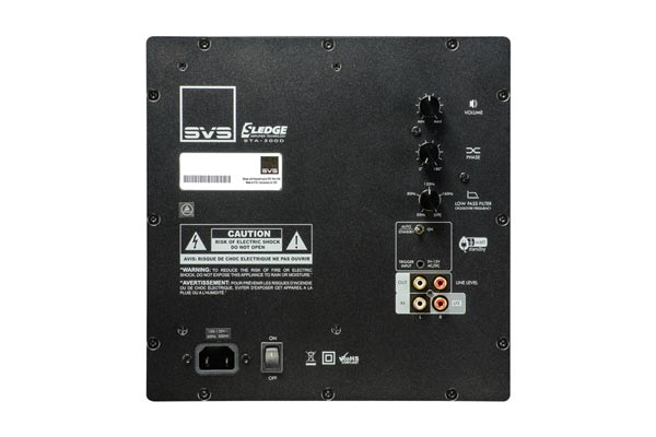Detail of SVS PC-2000 Input Panel