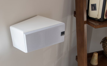 image of Elevate speaker side mounted.