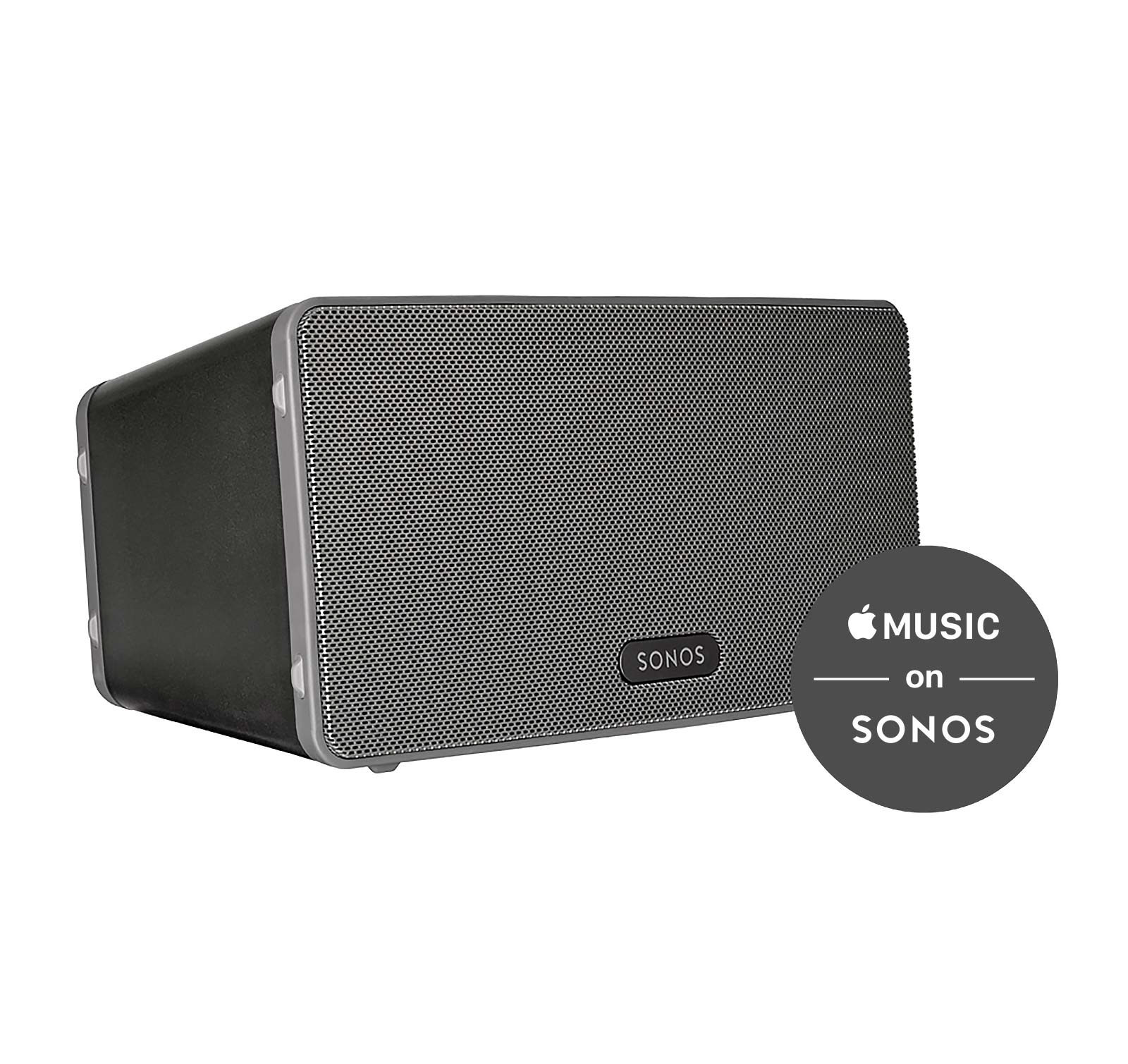 Image of the Sonos PLAY:3 Black All-In-One Wireless Music Playe