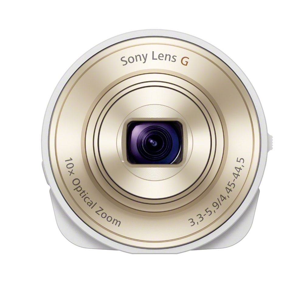 Sony DSCQX10/W White 18.2-megapixel Digital Camera for your Smart Phone at Sears.com