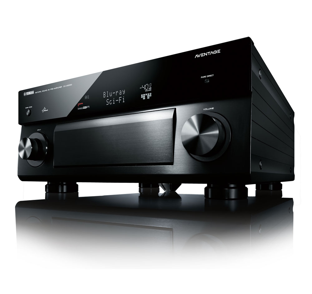 Yamaha CXA5000BL 11.2-channel Home Theater Pre Amplifier/Processor 120986