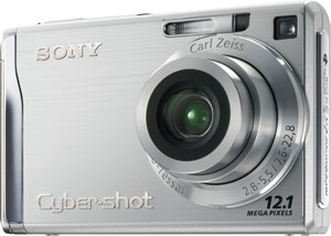 Sony Cyber-shot DSC-W200 12.1-megapixel Digital Camera