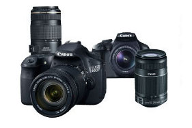 Canon EF Lens and DSLR Camera Picture