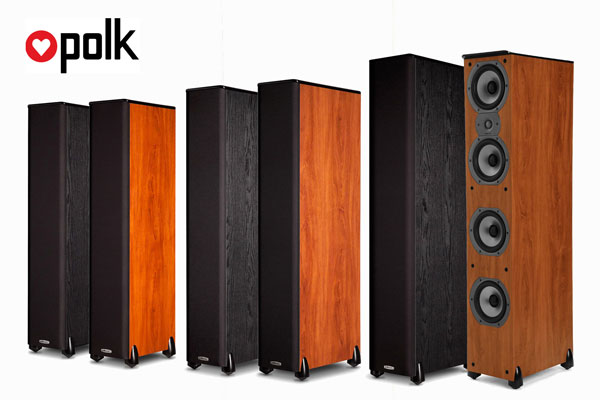 Polk Audio TSi Series speaker promo group image!