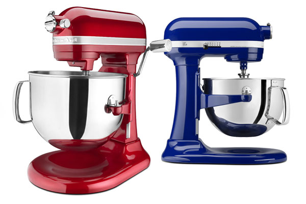 Picture of KitchenAid KP26M1X and KSM7586 Stand Mixers