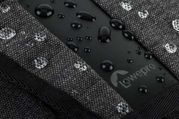 image of Lowepro Streetline SH 120 camera bag water-resistant material