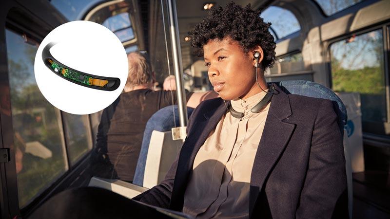 Image of Women enjoying Active Noise Cancellation.