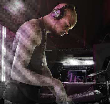 Cleer DJ Dual Audio Jacks