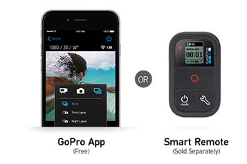 Use HERO4 Session will GoPro App or Remote