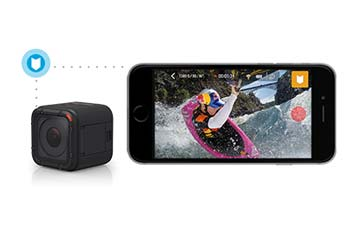 HERO4 Session hilights your favorite clips to find faster