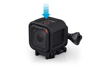 HERO4 Session activates with a single button press