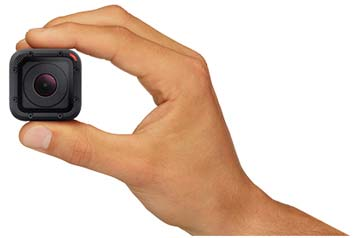 Smallest and lightest GoPro camera yet!