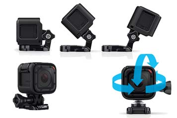 HERO4 Session lowprofile mounting action cam.