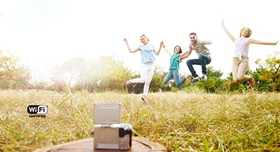 Get a Jump on Selfies and Group Shots