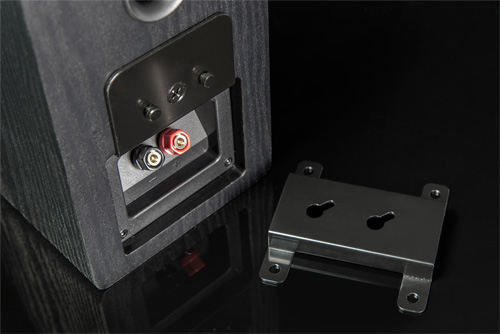 image of speaker bracket connection.
