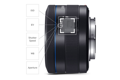 i-Function Control On the Lens