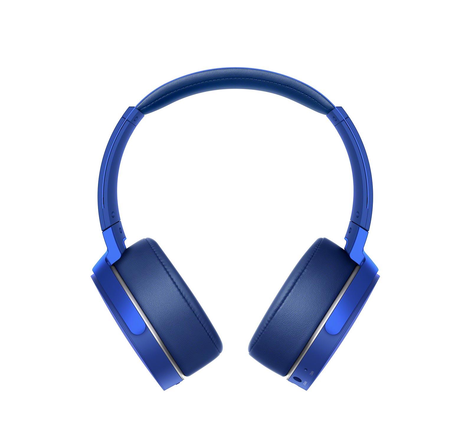 Sony-MDRXB950B1-L-Blue-Over-ear-Bluetooth-Headphones thumbnail 3