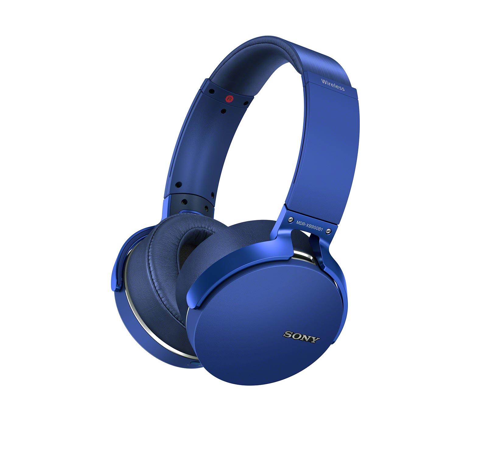 Sony-MDRXB950B1-L-Blue-Over-ear-Bluetooth-Headphones