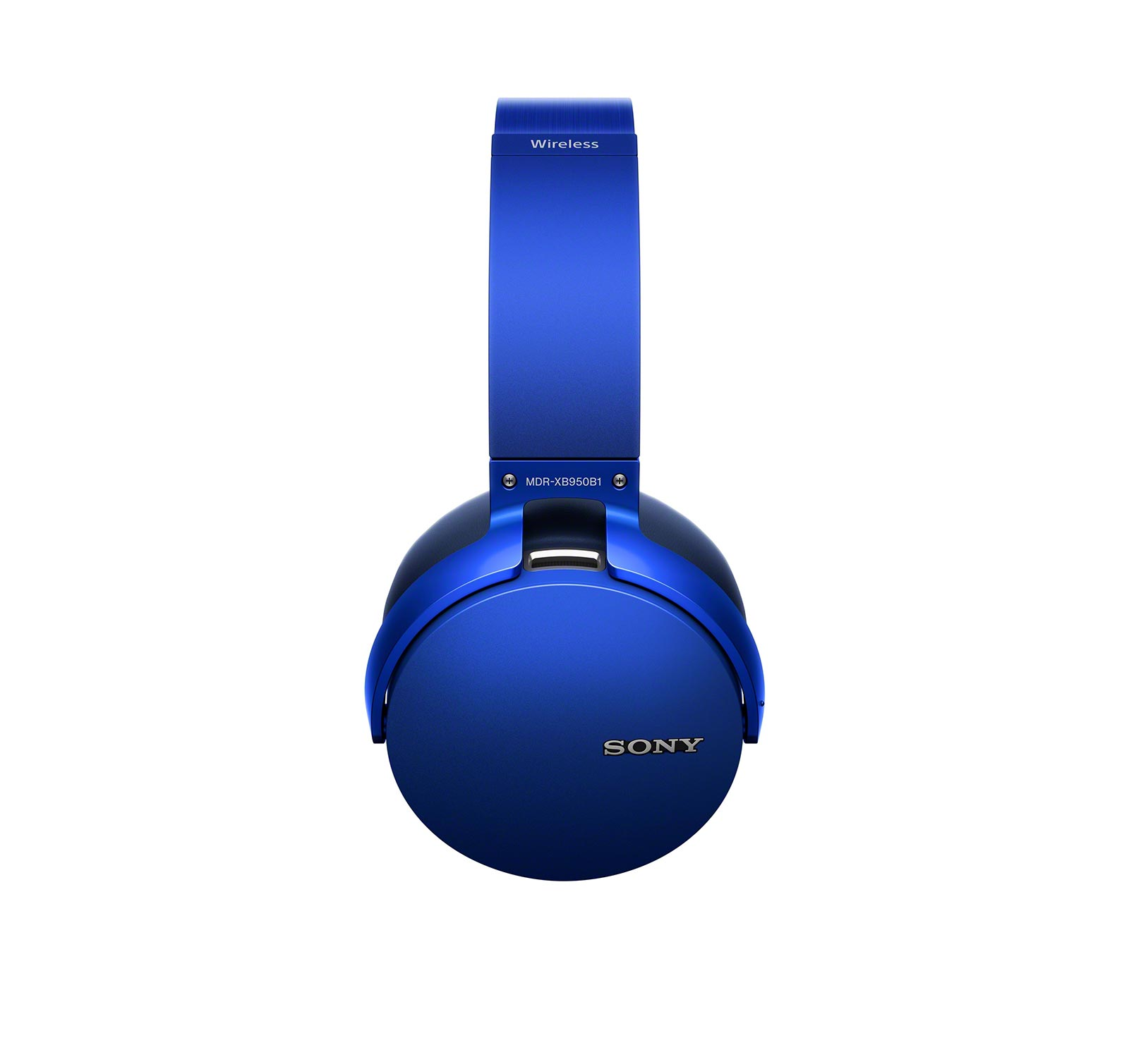 Sony-MDRXB950B1-L-Blue-Over-ear-Bluetooth-Headphones thumbnail 2
